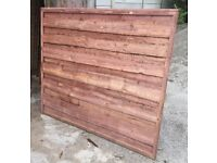Heavy Duty Treatment Dipped Waney Lap Fence Panels