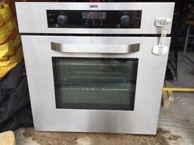 Zanussi built in fan oven (silver)
