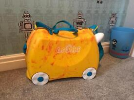 Trunki saurus for sale orange children's luggage