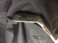 Callaway RAZR X black Approach Wedge (AW). Left handed