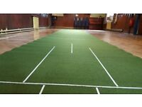 WYGREEN 40' x 6' Short Bowls Mat with Underlay - Fantastic Condition £900 NEW!