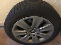 "4 x BMW winter wheels 16"""