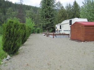 3 Valley RV lot, Yahk, BC