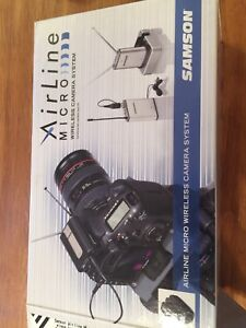 Samson Airline Micro wireless mic for DSLR and smart phone
