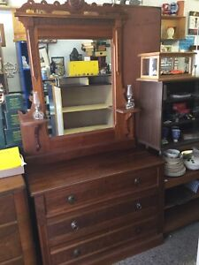 Dressers with mirror or without, several to choose from