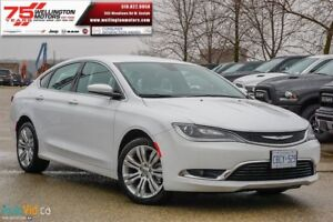 2016 Chrysler 200 Limited | $66.00 WEEKLY + HST & LIC. *O.A.C