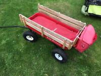 Pull along wagon