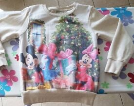 Aged 4-5 Years Disney Christmas Jumper