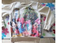 Aged 4-5 Years Disney Christmas Jumper