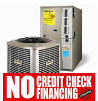 Central Air Conditioner - Furnace - Rent - Flexible Payments....