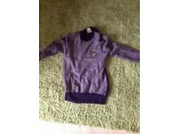 Mens/Boys Lyle and Scott jumper. Small