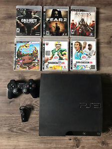 PS3 + Games + Accessories