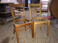 20 x dining chairs. Frames only NEW no seats