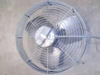 Commercial heating fan