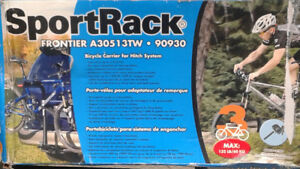 Sport Rack Frontier Bicycle Carrier Hitch System