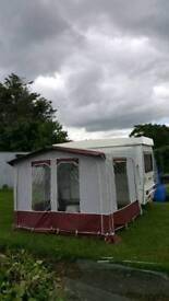 Gobur folding caravan
