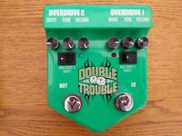Double Trouble twin tubescreamer pedal