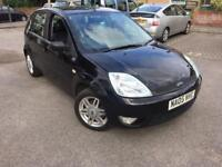 2005 FORD FIESTA 1.4 GHIA LOW MILES 56k MILES FSH LEATHER SEATS FREE 3 MONTHS WARRANTY