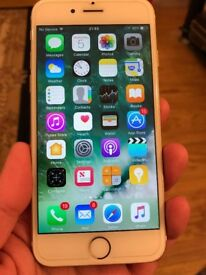 Apple iPhone 6 16GB Gold UNLOCKED SIMFREE GRADE A EXCELLENT CONDITION IPHONE 6 GOLD 16GB IPHONE UNLO