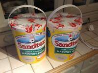 Sandtex Ultra Smooth Exterior Masonry Paint 2 x 5 litres