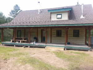 Log Home May be Coming for Sale
