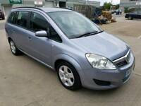 Vauxhall zafira 1.6 L petrol 7 seater only 78k miles, cambelt done,AA report,F.S.H