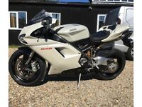 **DUCATI 848 With Full Termingnoni Race System**
