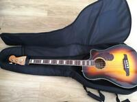 Fender Kingsman Electro Acoustic Bass Guitar