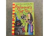 Children's books in box set Winnie the Witch 10 books in total - great condition