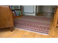 Ikea Rug. Kattrup. Size approx 140cm x 195cm