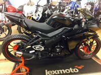 New Lexmoto Hawk 125cc Euro 4 Motorcycle - 2 Years Parts Warranty - £2099