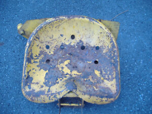 OLD TRACTOR SEAT