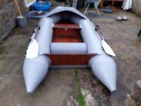 seaworthy. rubber dinghie , rib , tender , inflatable boat. boat