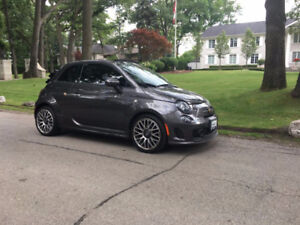 2014 FIAT 500C ABARTH GQ LIMITED EDITION CONVERTIBLE LOADED!!!!