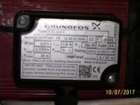Grundfos twin impellor shower pump.