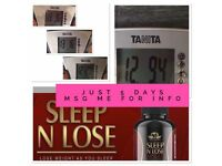 sleep n lose capsules