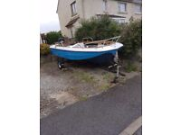 Dory style boat approx 15ft!!!