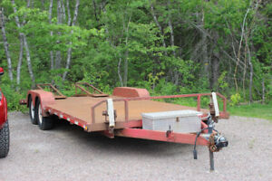 Red Heavy-Duty Trailer for Sale