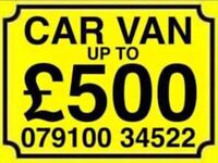 07910034522 SELL YOUR CAR 4x4 FOR CASH BUY MY SCRAP MOTORCYCLE Y