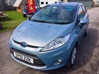 FORD FIESTA 1.4 TDCi Zetec 5dr - Low Road Tax �20 - Very Well Looked After - High MPG (blue) 2010