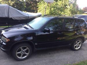 BMW X5 loaded