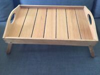 JOHN LEWIS BED TRAY NEW