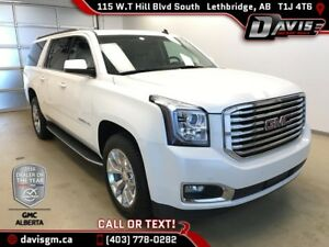 Used 2015 GMC Yukon XL SLT-7 Passenger, Heated/Cooled Leather, D