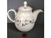 royal doulton expressions strawberry fair teapot