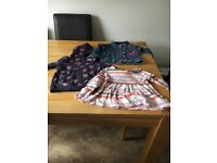various bundles of childrens clothes diff sizes good quality