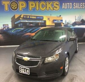2014 Chevrolet Cruze LT, AUTOMATIC, POWER GROUP AND MORE!