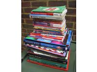 LARGE STACK OF OLD BOOKS CAR BOOT SALE ITEMS HOUSE CLEARANCE