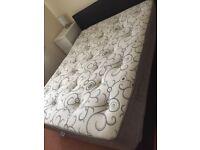 Kingsize mattress bed