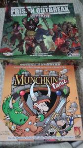 Selling Board Games: Zombicide season 2, and Munchkin Panic