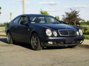 1998 Mercedes-Benz CLK 320 Elegance Coupe  Only 14,077 km!